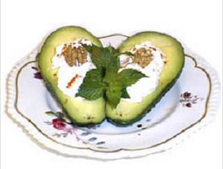 Фаршированные авокадо