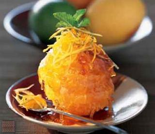 Апельсин в карамели