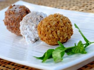 Рисовые шарики с мясом