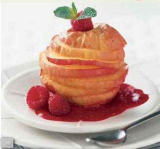 Яблочные цукаты с медом