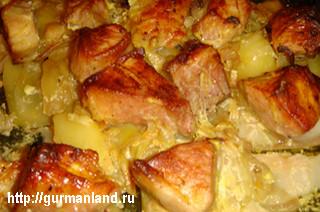 Картошечка с мясом от Василия