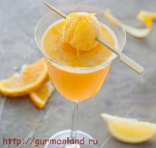 Коктейль апельсиновый рай